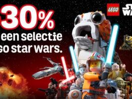 Banner - 30% korting op LEGO Star Wars