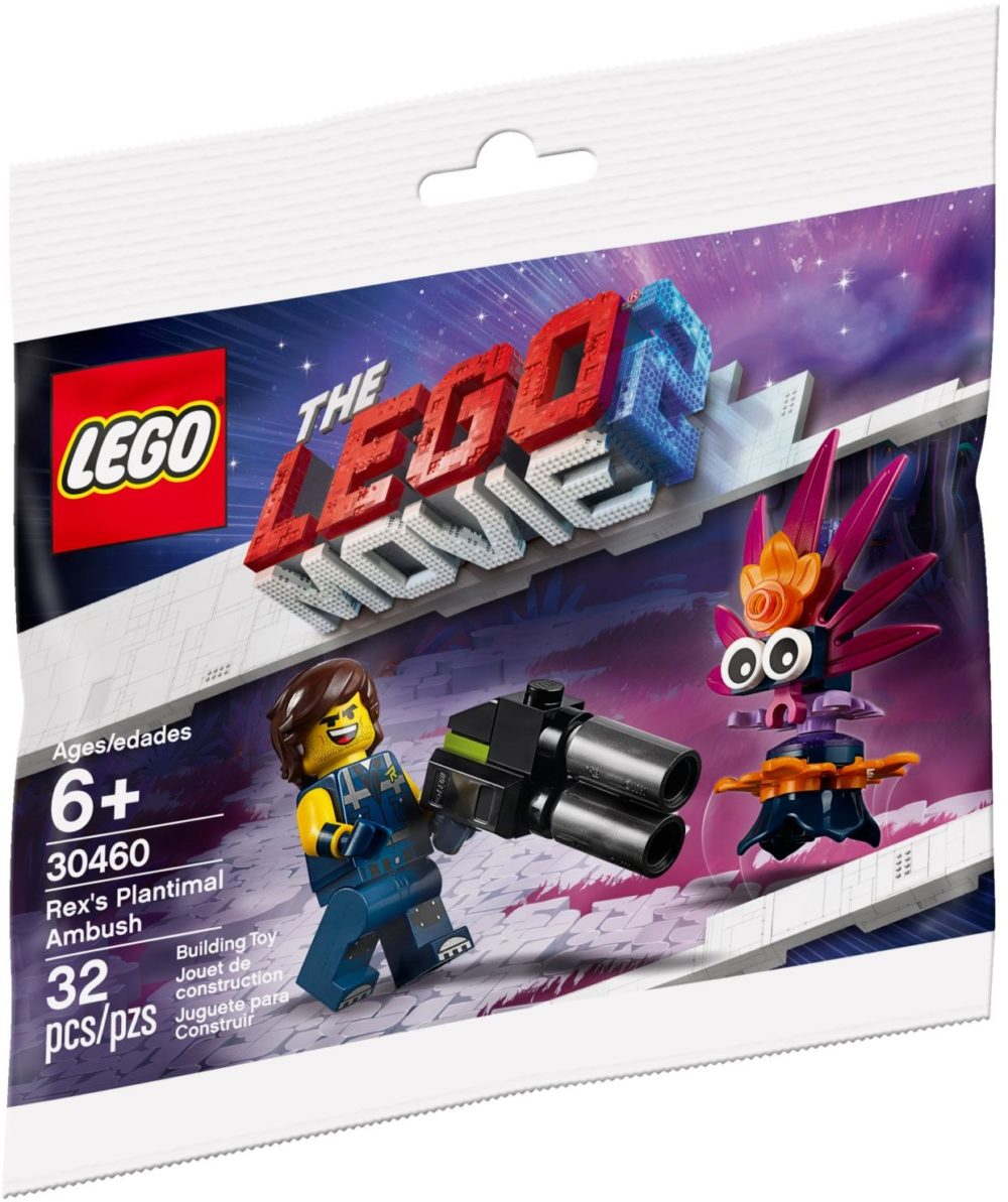 LEGO Movie 2 30460 Rex's Plantimal Ambush
