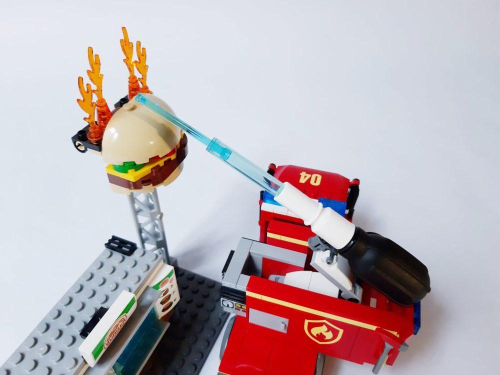 LEGO City 60214 Burger Bar Fire Rescue