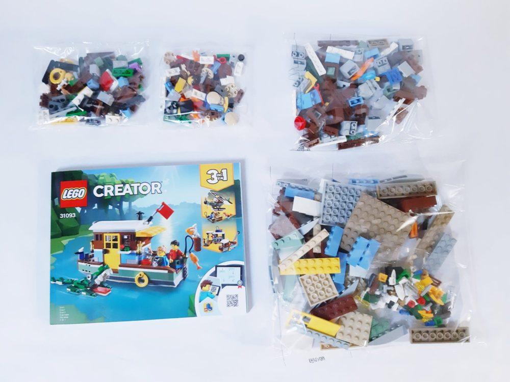 LEGO Creator 31093 Riverside Houseboat