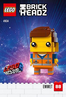 LEGO BrickHeadz41634 Emmet