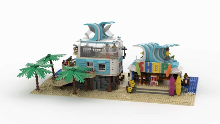 LEGO Ideas Surf and Turf