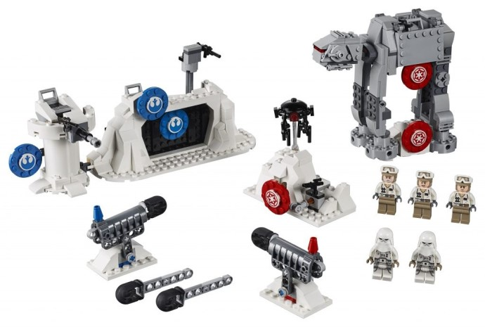 LEGO Star Wars 75241 Battle Echo Base Defense Action