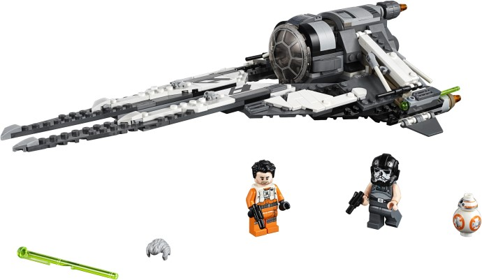 LEGO Star Wars 75242 Black Ace TIE Interceptor
