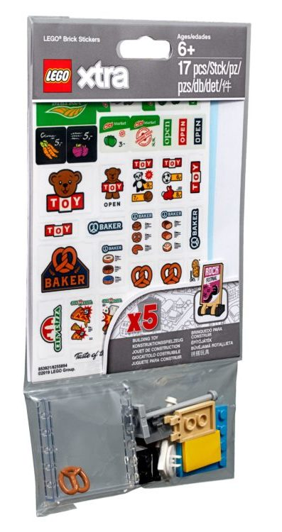 LEGO Xtra 853921 LEGO Brick Stickers