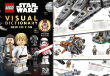 Exlcusieve Minifig LEGO Star Wars Visuals Dictionary - header