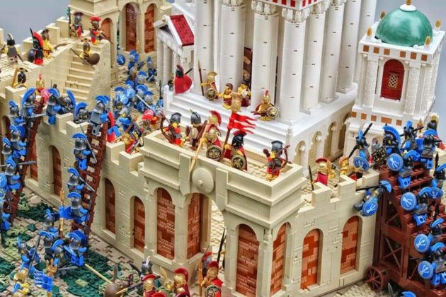 LEGO The Fall of Cyrene