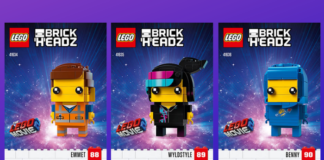 Instructies The LEGO Movie 2 BrickHeadz