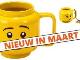 LEGO 853910 Minifigure Ceramic Mug verkrijgbaar