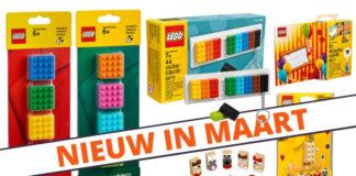 LEGO Accessoires maart 2019 verkrijgbaar