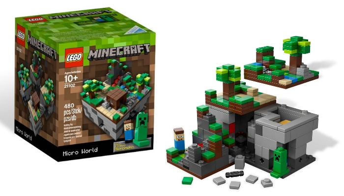 LEGO CUUSOO 21102 Minecraft Micro World_ The Forest