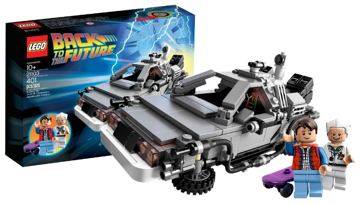 LEGO CUUSOO 21103 The DeLorean Time Machine