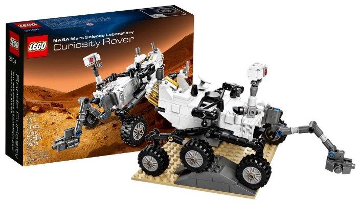 LEGO CUUSOO 21104 NASA Mars Science Laboratory Curiosity Rover