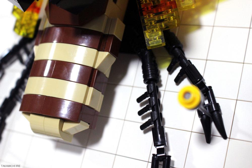 LEGO Chalcosoma caucasus body