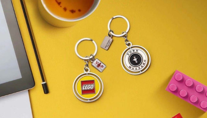 LEGO Ford Mustang Exclusive Key Chain