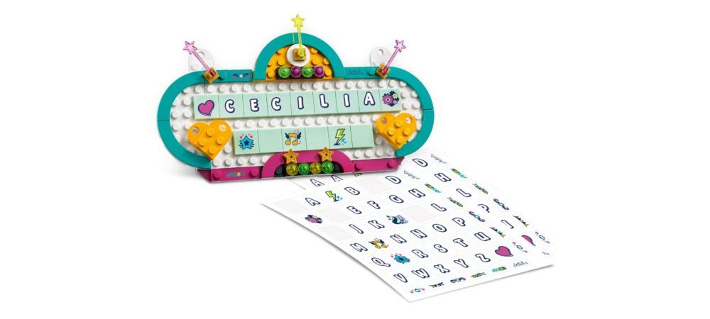 LEGO Friends 40360 Name Sign
