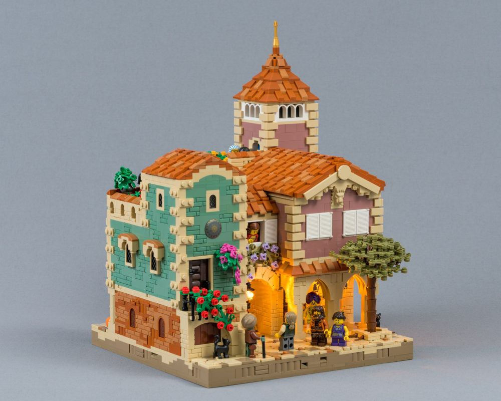 MOC LEGO House in Barqa