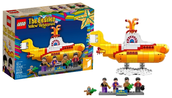 LEGO Ideas 21306 The Beatles Yellow Submarine