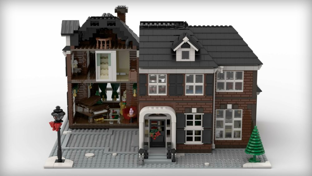 LEGO Ideas Home Alone - McCallister's House bereikt 10K ...
