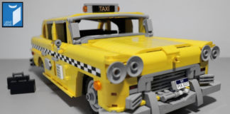 LEGO Ideas NYC Taxi