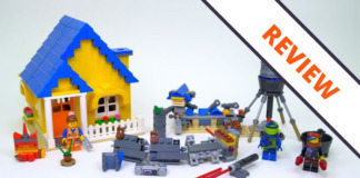 LEGO Movie 2 70831 Emmet's Dream House