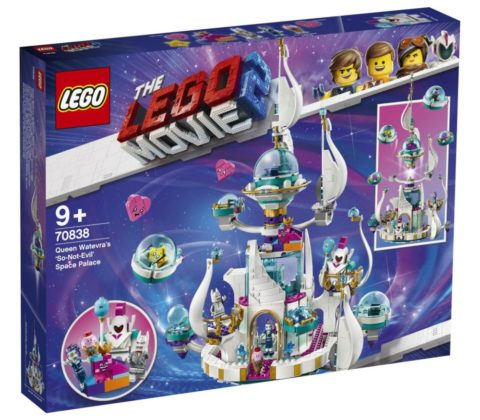 LEGO Movie 2 70838 Queen Watevra's 'So-Not-Evil' Space Palace
