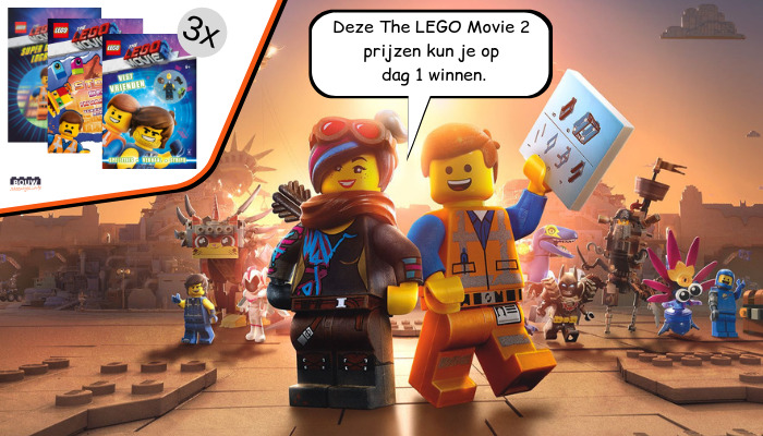LEGO Movie 2 win week dag 1