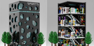 LEGO Sporting Goods Store - header