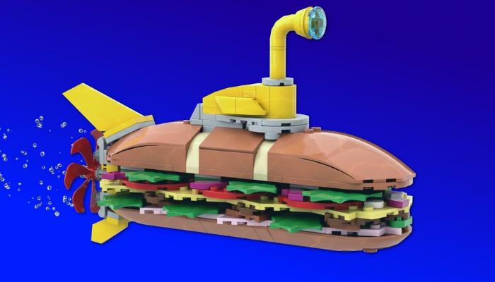 LEGO Submarine Sandwich