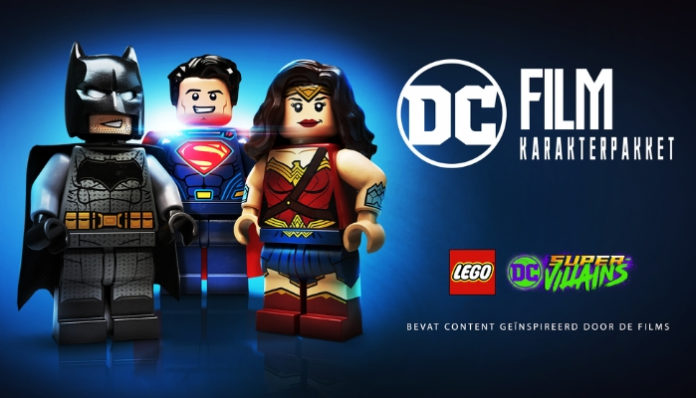 LEGO Super Villains DC Movie Character Pack DLC