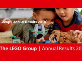 LEGO jaarresultaten 2018 gepresenteerd