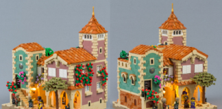 MOC LEGO House in Barqa