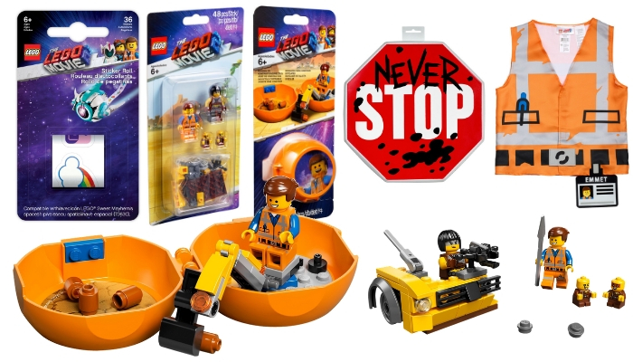 Meer The LEGO Movie 2 accessoires en sets