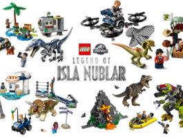 Nieuwe LEGO Jurassic World sets onthuld