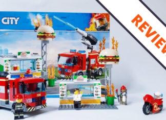 [Review] LEGO City 60214 Burger Bar Fire Rescue