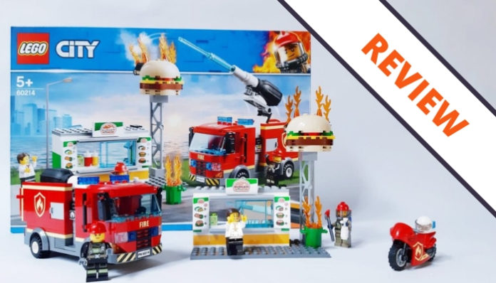[Review] LEGO City 60214 Burger Bar Fire Rescue