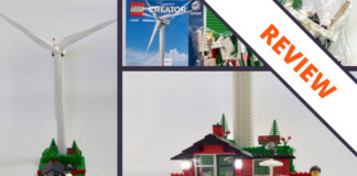[Review] LEGO Creator 10268 Vestas Wind Turbine