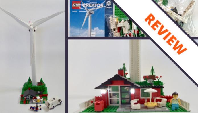 [Review] LEGO Creator 10268 Vestas Wind Turbine