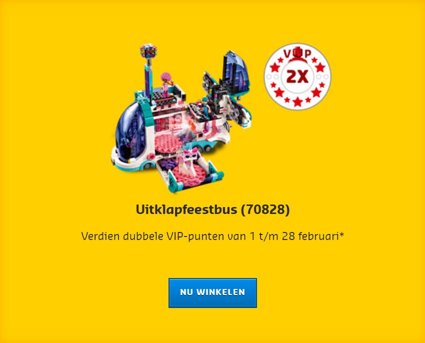 LEGO Dubbele VIP
