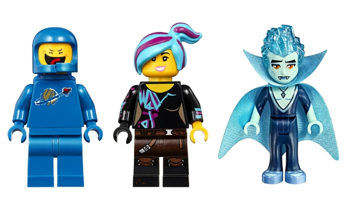 The LEGO Movie 2 LEGO Movie 2 70837 Shimmer & Shine Sparkle Spa! Minifigures
