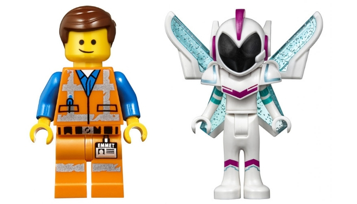 The LEGO Movie 2 LEGO Movie 2 70842 Emmet's Triple-Decker Couch Mech Minifigures