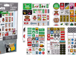 Visuals LEGO Xtra 853921 LEGO Brick Stickers