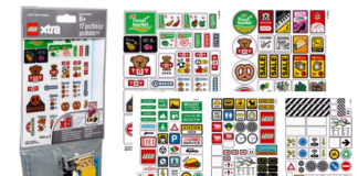 Visuals LEGO Xtra 853921 LEGO Brick Stickers