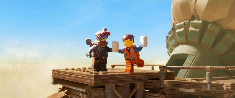 The LEGO Movie 2 The Coffee Chain Café - TLM2 Emmet en Lucy