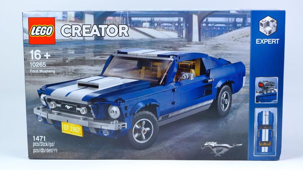 LEGO Creator Expert 10265 Ford Mustang - doos
