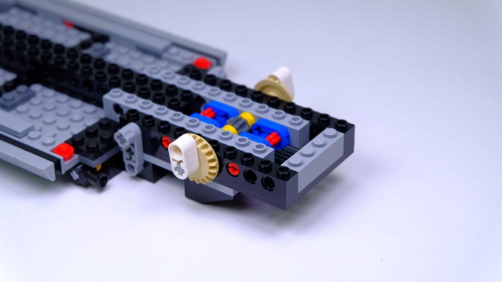 LEGO Ford Mustang - verstelbare hoogte as