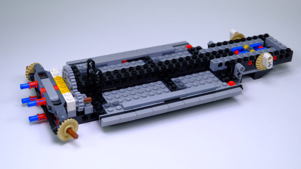 LEGO Ford Mustang - chassis