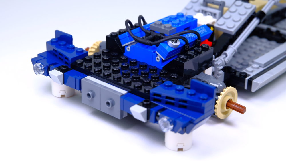 LEGO Ford Mustang - voorkant chassis
