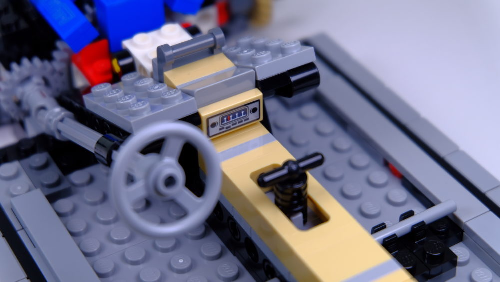 LEGO Ford Mustang - dashboard
