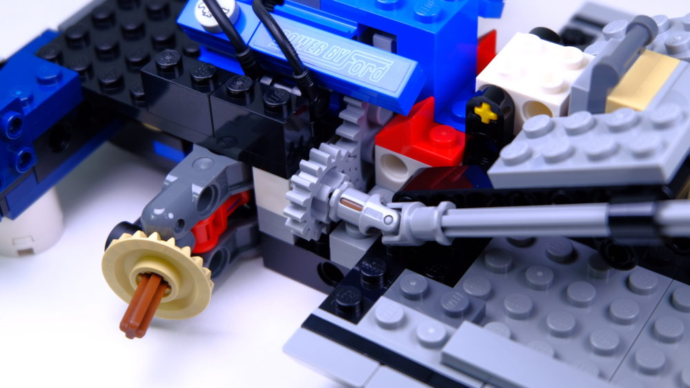 LEGO Ford Mustang - stuurinrichting
